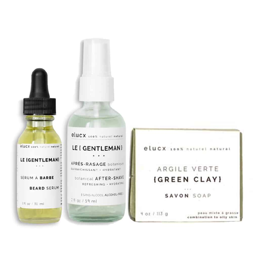 The {GENTLEMAN} men skin care set *ESSENTIAL*