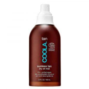 Coola – Brume d'huile sèche autobronzante pour le corps