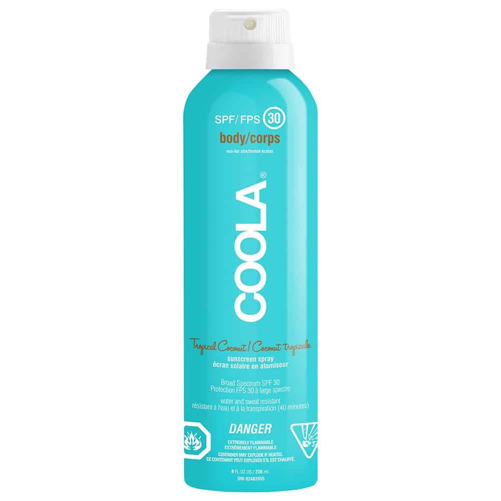 SPF 30 Sunscreen Spray Tropical Coconut
