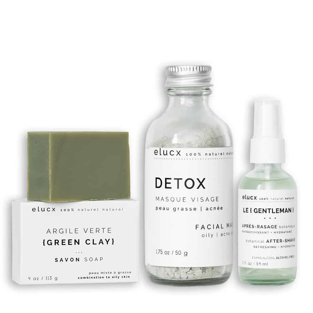 The {GENTLEMAN} * DETOX * face care set