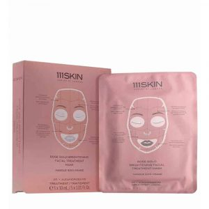 111SKIN Boîte à masque soin visage illuminateur Rose Gold