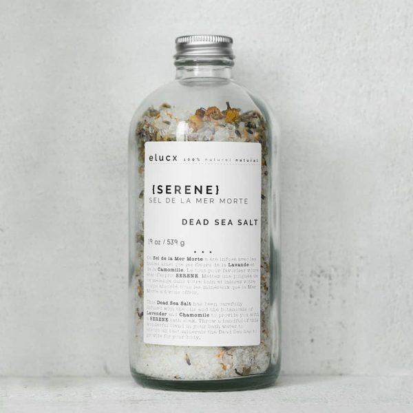 Serene bath salt