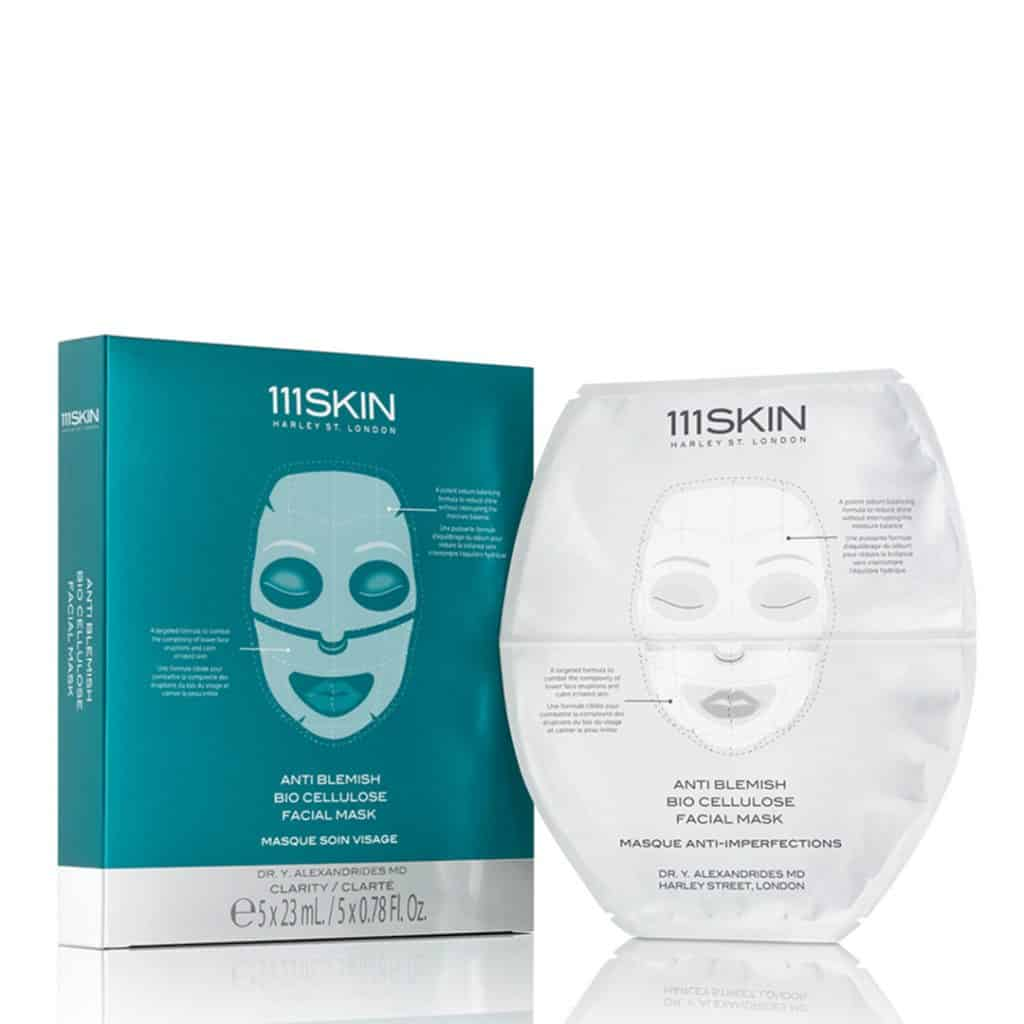 Masque anti-imperfections en biocellulose