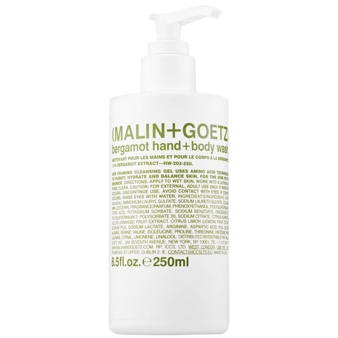 MALIN+GOETZ Savon pour les mains et le corps à la bergamote