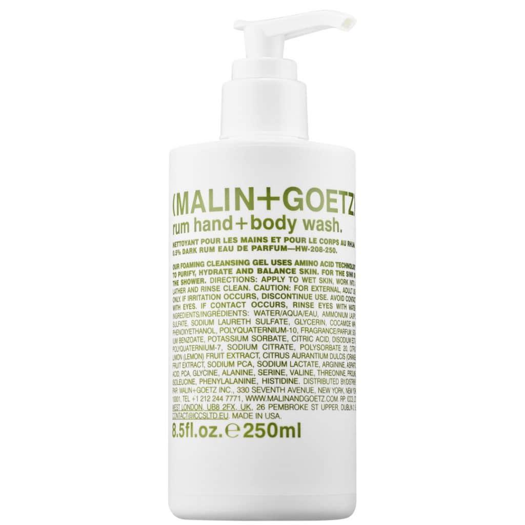 (MALIN+GOETZ) - SAVON MAINS & CORPS RUM