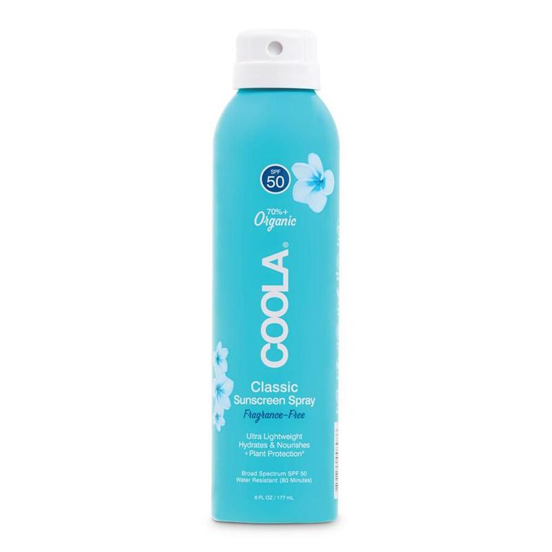 Coola-Spray Solaire SPF 50 Classic Body - Sans Parfum
