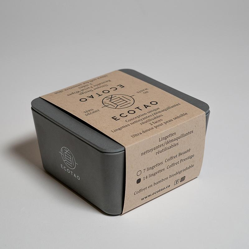 ECOTAO - Coffret beauté 14 lingettes
